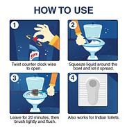 Harpic Disinfectant Toilet Cleaner 500ml 4