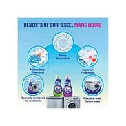 Surf Excel Matic Top Load Liquid Detergent 500ml 6