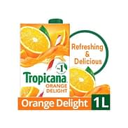 Tropicana Orange Delight Juice 1ltr