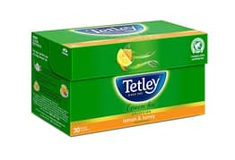 Tetley Green Tea Lemon and Honey 25p