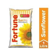 Fortune Sunlite Refined Sunflower Oil 1l