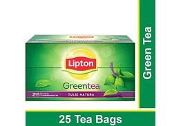 Lipton Tulsi Natura Green Tea Bags 25p