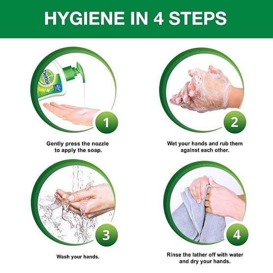 Dettol Original Liquid Hand Wash 900ml 5