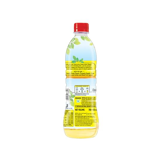 Kissan Lemon Squash 750ml 3