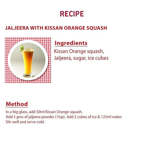 Kissan Pineapple Squash 750ml 2