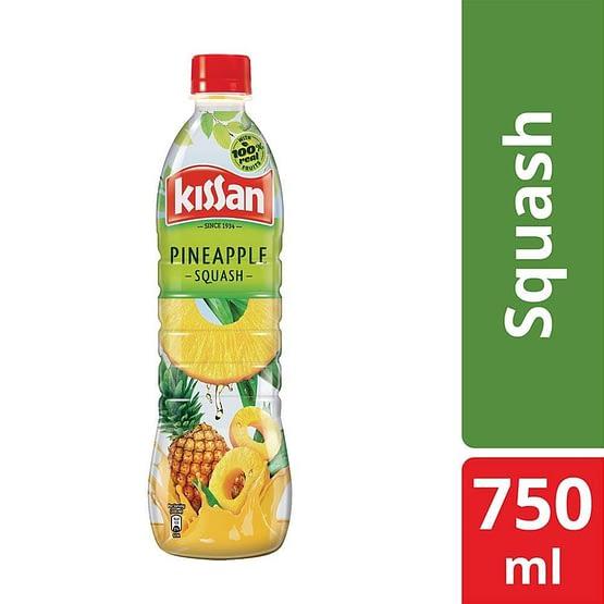 Kissan Pineapple Squash 750ml 3