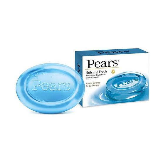 Pears Soft Fresh Bathing Bar 125g 1