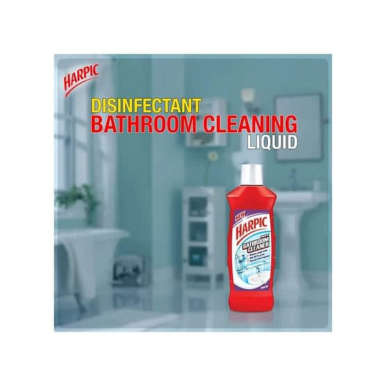 Harpic Floral Bathroom Cleaner 500ml 4