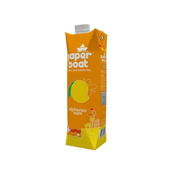 Paper Boat Alphonso Aam Fruit Drink 1ltr 3