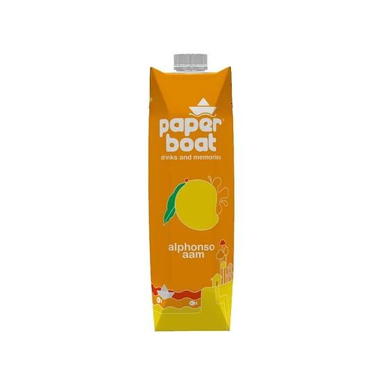 Paper Boat Alphonso Aam Fruit Drink 1ltr 5
