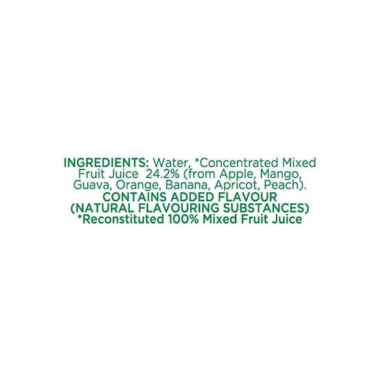 Tropicana 100 Mixed Fruit Juice 200ml 4