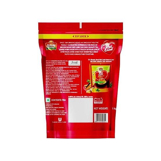 Brooke Bond Red Label Tea Zip Lock 1kg 2