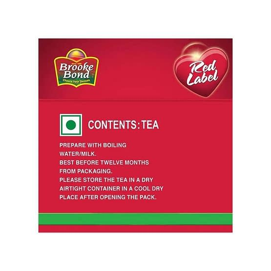 Brooke Bond Red Label Tea Zip Lock 1kg 4