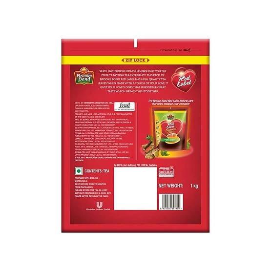 Brooke Bond Red Label Tea (Zip Lock)