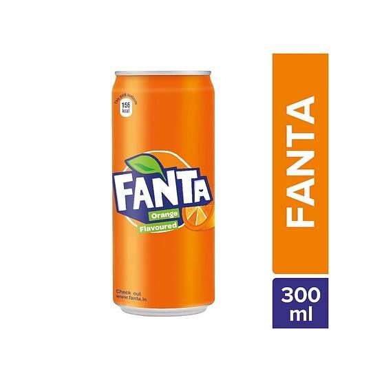 Fanta Soft Drink Can 300ml