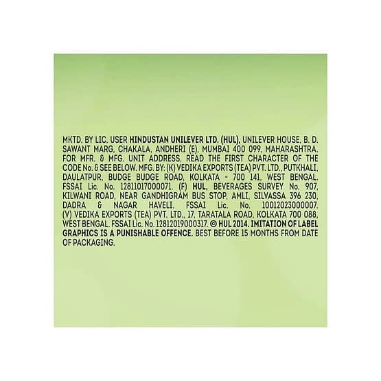 Lipton Tulsi Natura Green Tea Bags 25p 2