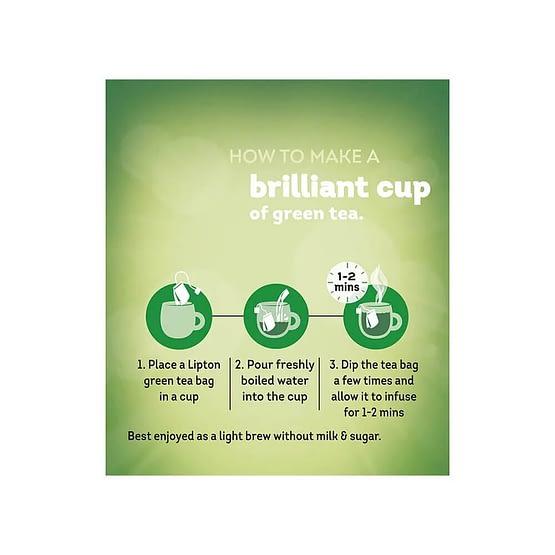 Lipton Tulsi Natura Green Tea Bags 25p 5