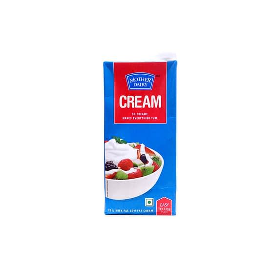 Mother Dairy Cream 1Ltr 2