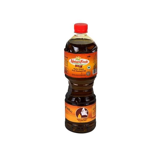 Nature Fresh Kachi Ghani Pure Mustard Oil 1ltr