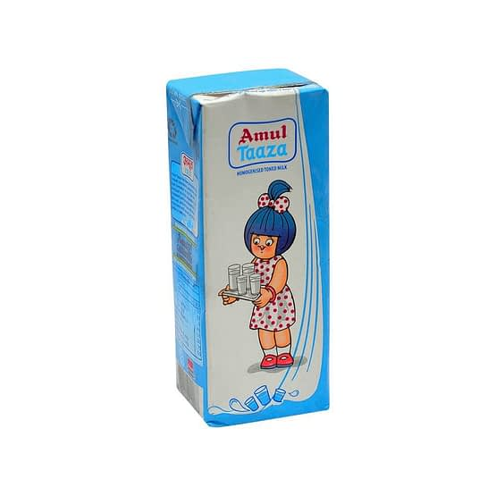 Amul Taaza Toned Milk 200ml