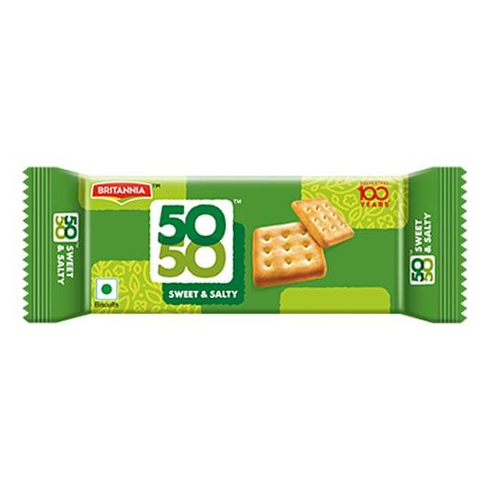 Britannia 5050 SWEET SALTY Biscuits 95g