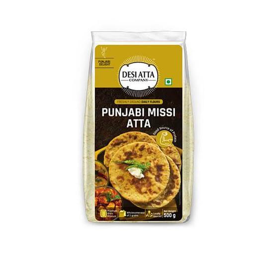 Desi atta company Punjabi Missi Atta 500g