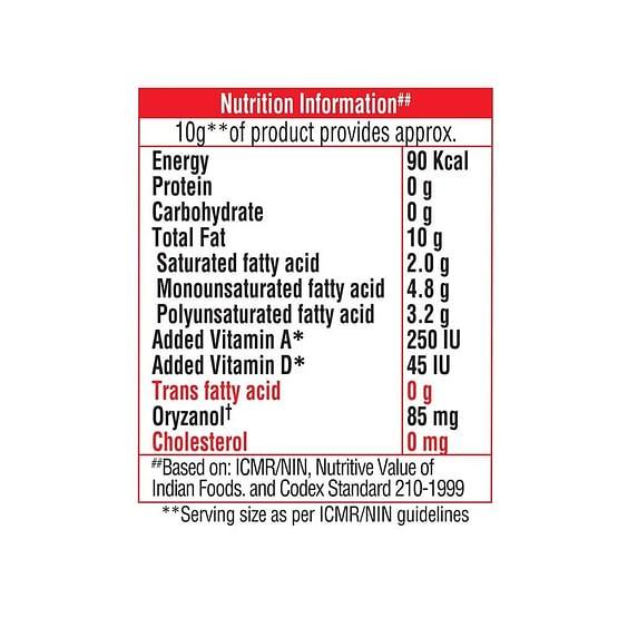 Saffola Gold Edible Oil 1L 3