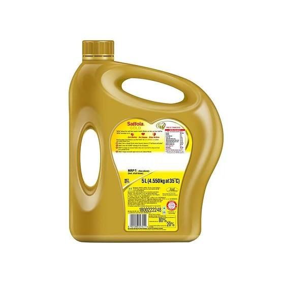 Saffola Gold Edible Oil 5L 2