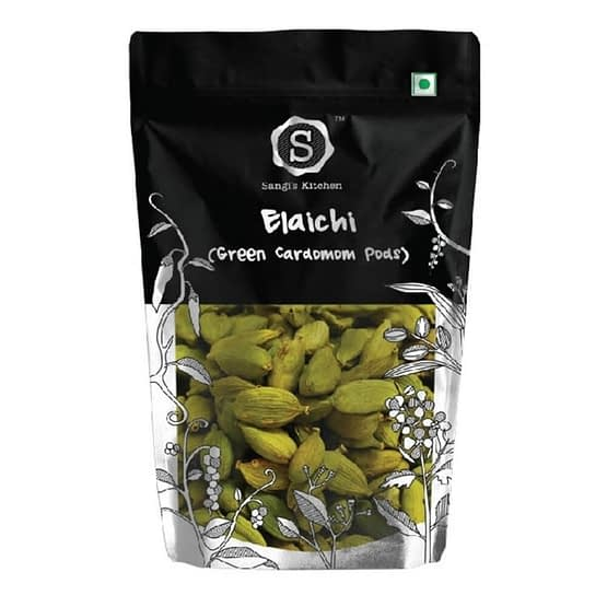Sangis Kitchen Green Elaichi 100g