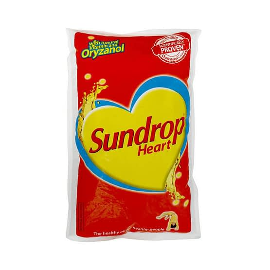 Sundrop Heart Blended Oil Pouch 1L
