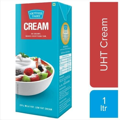 Mother Dairy Cream 1Ltr